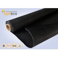 Cheap Black Fire Retardant Blanket Glass Fiber Roll Compenstor Cloth 1.2mm Thermal Insulation Roll for sale
