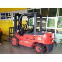 China 3.5 Ton Electric Powered Forklift , Hand Operated Electric Forklift 80V/500Ah AC Battery on sale