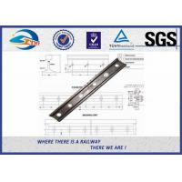 Cheap GB Standard Rail Fishplate , 38kg 43kg Rail Railway Joint Bar With 6 Holes TB/T 2345-2008 for sale