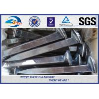 Cheap Railway Studs And Screw In Spikes Coach Spikes Rail Asteners for sale