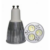 Cheap GU10 3*3W led spot lamp for sale