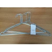 Cheap Q195 Material Clothes Wire Hangers Recyclable Non Slip Clothes Hangers For Shirt for sale