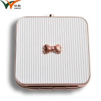Cheap Foldable Open Compact Makeup Mirror With Moulding Technique Process for sale