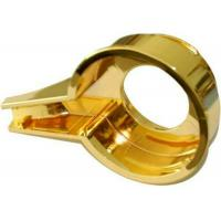 Cheap Handle part Aluminium Die Casting polish and golden plating treatment for sale
