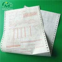 Cheap Ncr Digital Carbonless Paper , Computer Printing Carbon Copy Paper Sheets OEM for sale