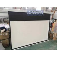 Cheap Cynthia High Gain Matte White 178MX178M Electric Projection Screen For Projector for sale