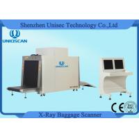 Buy cheap X Ray Scanner Big Dual Energy Baggage Parcel Inspection For Hotel Security from wholesalers