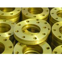 Buy cheap Yellow Painted JIS Flat Welding Flange For Water , Shipbuilding Sectors from wholesalers