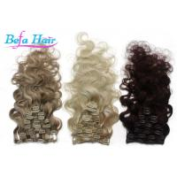 Cheap 32 Inch / 34 Inch Clip In Hair Extension Brazilian Virgin Unprocessed Remy Human Hair Weave wholesale