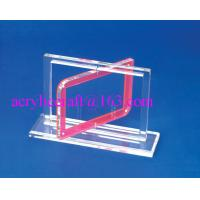 China Clear acrylic photo frame PMMA picture holder transparent plexiglass picture frame on sale