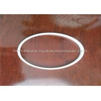 Cheap PTFE Hydraulic Cylinder Seals, Pure White Excavator Air Cylinder Seals wholesale