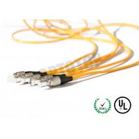 1F Zip 2mm Fiber Optic Patch Cord Corning Cable 7m Length With Single Mode