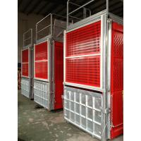 Cheap VFC Control Building Construction Hoist Elevator With Galvanized Car Rack Pinion for sale