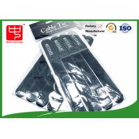Buy cheap 4 pcs Printed Hook and Loop Cable Ties white strong hook and loop straps For Supermarket from wholesalers