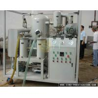 China SGS Report Transformer Oil Filtration Plant ,Carbon Steel Structure Transformer Oil Filtration on sale
