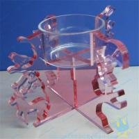 Buy cheap CH (18) Acrylic tube candle holder from wholesalers