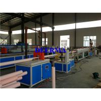 Cheap PVC Plastic Extrusion Line for making 75-160mmPVC Pipe for Water Distribution for sale