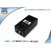 Cheap GME 0.5A Poe Power Adapter , Switching Power Over Ethernet Poe Adapter for sale