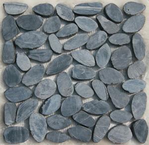Cut Pebble / Sliced Pebble Tile (4)