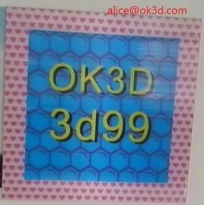 Cheap OK3D 360-degree three-dimensional depth fly eye lens sheet photo frames 360° 3d frame dot lenticular photo frame for sale