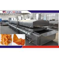 Buy cheap Large Capacity Snacks Frying Machine , Commercial Deep Fryer Automatic from wholesalers