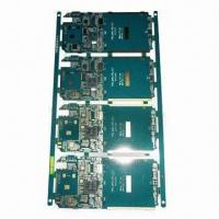 Buy cheap 4-layered Phone Mother Board with Immersion Gold and 10z Copper Thickness from wholesalers