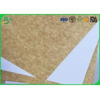 Cheap 120gsm - 200gsm Coated White Top Liner Paper Water Resistant For Magazine Printing for sale