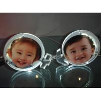 China Customized Picture Frame Clear Acrylic Brochure Holders With LED Light on sale