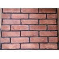 Cheap Red Classical Cement Faux Exterior Brick For Hotel / Railway Station for sale