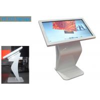 Cheap Floor Stand Interactive Touch Screen Kiosk Advertising Touch Screen K Shape TFT Type for sale