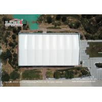 Buy cheap 5000sqm 6m Height Aluminum Outdoor Exhibition Tents A Shape With PVC Sidewalls from wholesalers