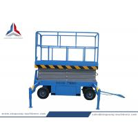 Cheap Towable Hydraulic Mobile Scissor Lift Table with 8m Platform Height for sale