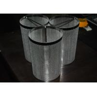 Cheap Aviation / Nuclear Industry Stainless Steel Mesh Filter Cartridge Durable With Shape Custom for sale