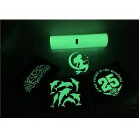 Cheap Cutting 50x500cm Glow Heat Transfer Vinyl For PU Material Shoes Stretchable for sale