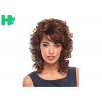 Cheap Pretty  Synthetic Hair Wigs / Heat Resistant 14 Inches Synthetic No Lace Hair Wig for sale