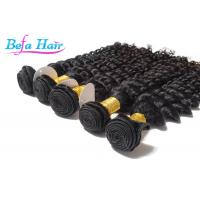 Cheap Grade 7A 26 inch / 28 Inch Eurasian Virgin Hair weave Deep Wave for sale
