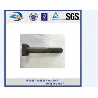Quality Stainless Steel / Carbon Steel Railway Bolt Hardware And Fasteners ASTM F1852 wholesale