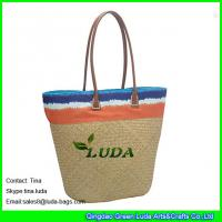 Cheap seagrass straw beach bag totes for sale