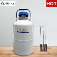 China TianChi liquid nitrogen gas cylinder 3L in Micronesia Aviation aluminum color  manufacturers on sale
