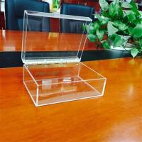 Cheap acrylic display boxes clear acrylic boxes with lids for sale