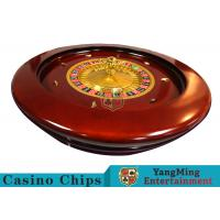 Cheap Deluxe Solid Wooden Roulette Wheel Game Difficult To DeformationFor Casino wholesale