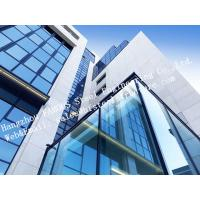 Cheap Aluminum Exterior Double Glass Facade Curtain Wall Insulation Building System for sale