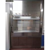 Cheap Clean Room Stainless Steel Fume Hood L1500*W800*H2350mm Size Floor Mounted for sale