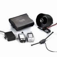 Cheap 2-way LCD Car Alarm with Long Range Controlling Operation and Intelligent Auto-arm for sale