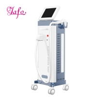 Cheap Newest Vertical diode laser hair removal 808nm / removal facial hair 808nm diode laser hair removal machine LF-647b for sale