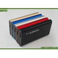 Cheap External Phone Battery Charger , Portable Mobile Slim Card Power Bank for sale