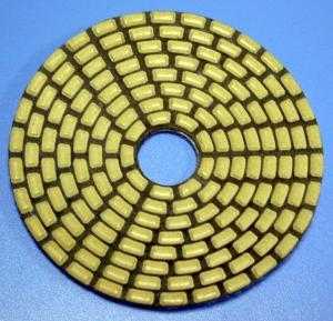 Cheap 4 inch angle grinder polishing pads diamond sponge polishing pad for sale