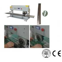Cheap Pre Scoring PCB Separator Machine V Groove PCB Depaneling With Lcd Display for sale