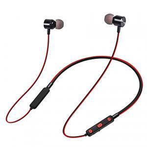 Buy cheap 55mah Battery Bluetooth Earphones V4.2 Neckband Headset Sport Wireless Headphone from wholesalers
