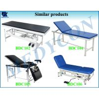 Cheap PU Surface Medical Exam Table With Full Stainless Steel Frame for sale